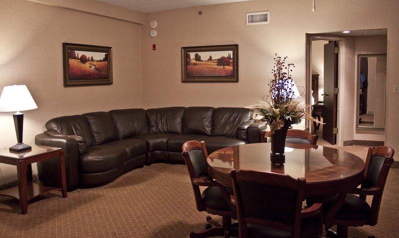 Bridal Penthouse Living Area