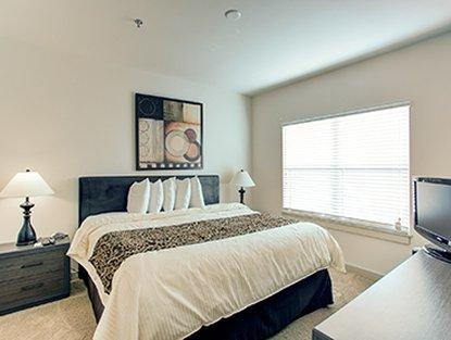 Atlanta Furnished Apartment Bedroom