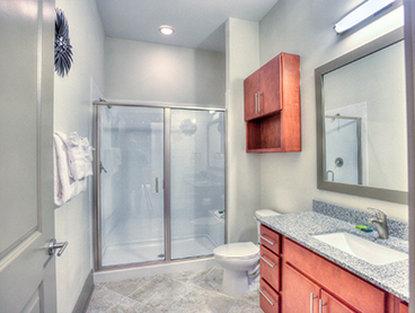 Atlanta Furnished Apartment Bathroom