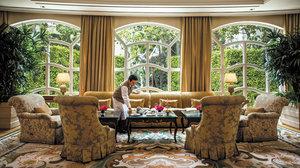 Lobby - Peninsula Hotel Beverly Hills