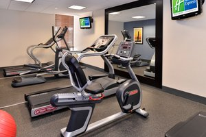 Fitness/ Exercise Room - Holiday Inn Express Downtown Worcester