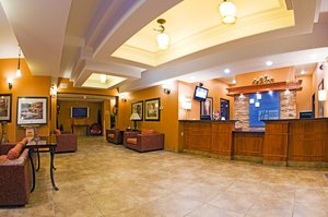Lobby - Holiday Inn Express Hotel & Suites Grande Prairie