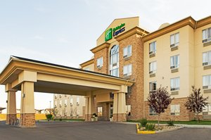 Exterior view - Holiday Inn Express Hotel & Suites Grande Prairie