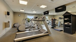 Fitness/ Exercise Room - Holiday Inn Express Hotel & Suites Gonzales