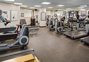 Fitness/ Exercise Room - Marriott Hotel Colorado Springs