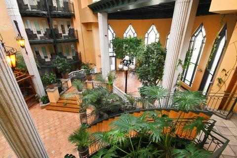 Garden view interior