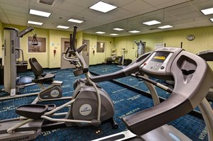 Fitness/ Exercise Room - Holiday Inn Express Hotel & Suites Airport Maize