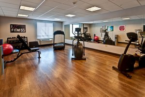 Fitness/ Exercise Room - Holiday Inn Express West Hutchinson
