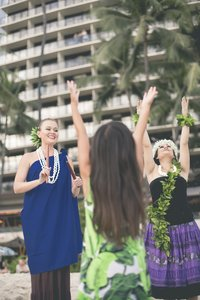 Beach - Outrigger Hotel Waikiki Honolulu