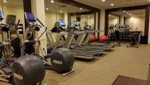Fitness/ Exercise Room - DoubleTree Suites by Hilton Hotel Mt Laurel