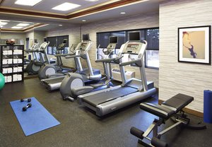 Fitness/ Exercise Room - Courtyard by Marriott Hotel Roseville