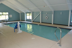 Pool - Holiday Inn Express Hotel & Suites North Waterville