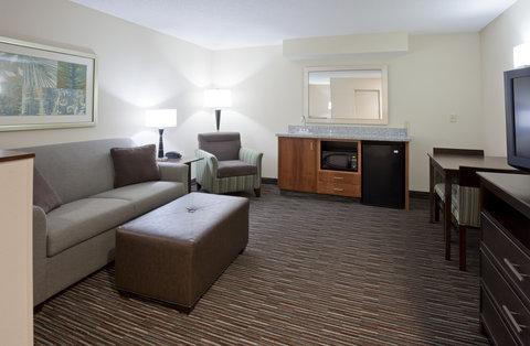 2 Queen Bed Suite Living Room