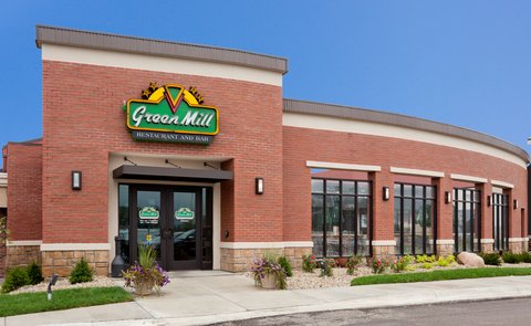 Green Mill is attached to the hotel, dine in or or