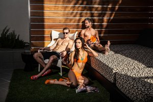 Pool - Hotel Derek Houston