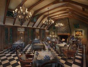 Restaurant - Twin Farms Hotel Barnard