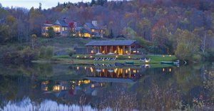 Exterior view - Twin Farms Hotel Barnard