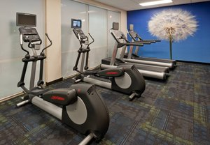 Fitness/ Exercise Room - SpringHill Suites by Marriott Lafayette