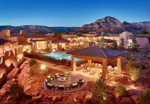 Exterior View Courtyard By Marriott Hotel Sedona