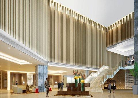 Grand Lobby At Bai Hotel Cebu