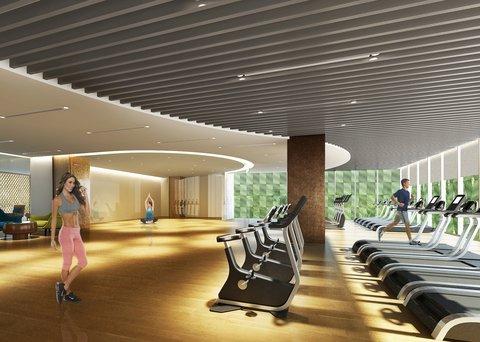 Gym At Bai Hotel Cebu
