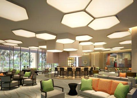 Lobby Lounge At Bai Hotel Cebu