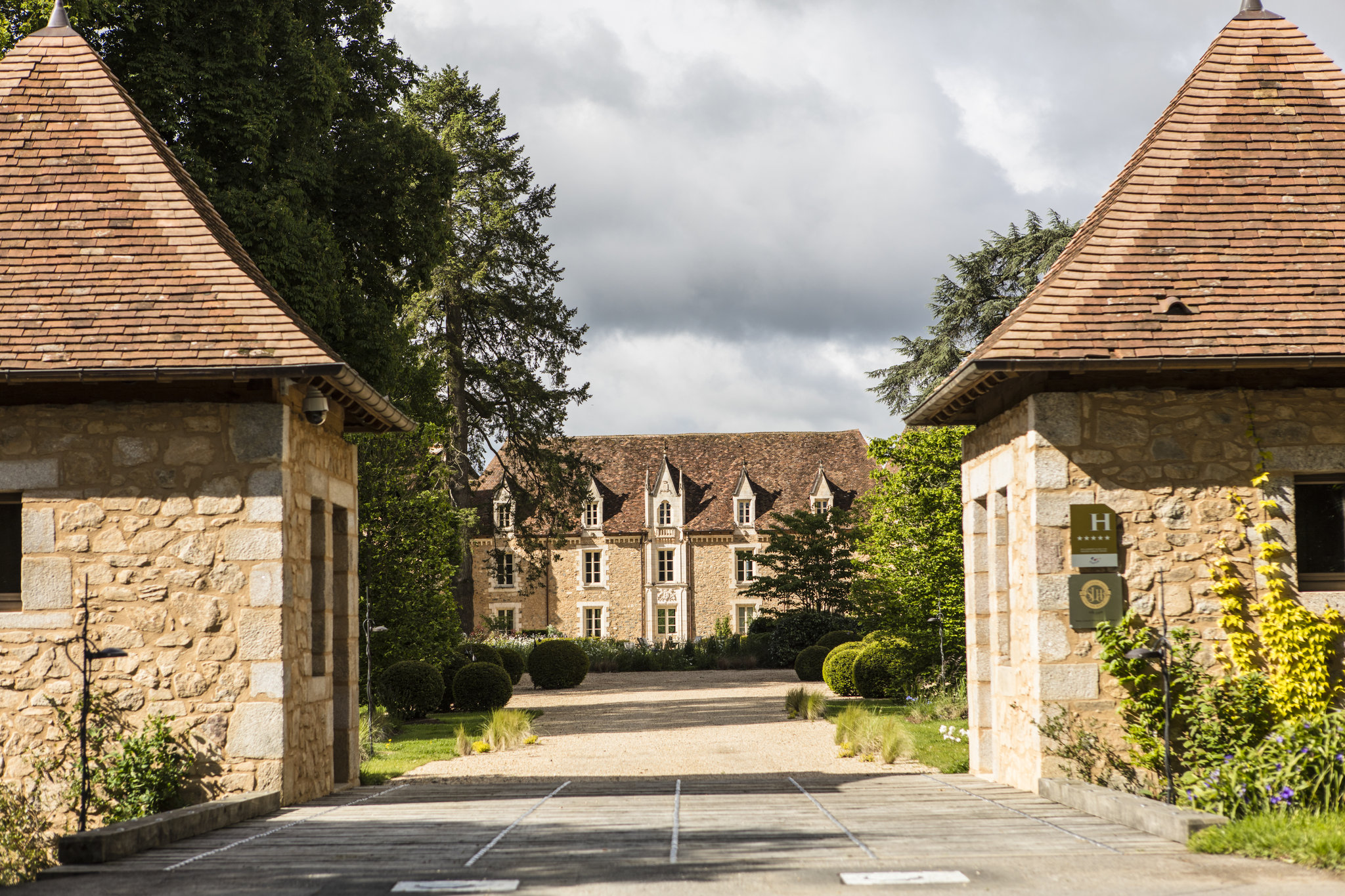 Entrance of the Domaine