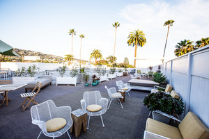 Lobby - Hotel Beverly Terrace Beverly Hills