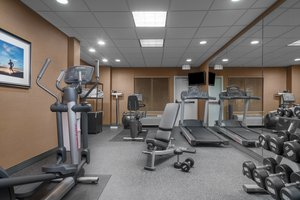 Fitness/ Exercise Room - Holiday Inn Express Hotel & Suites Ames