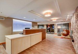 Lobby - Fairfield Inn by Marriott Woburn