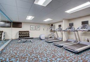 Fitness/ Exercise Room - Fairfield Inn by Marriott Amesbury
