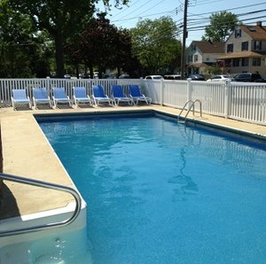Pool - Pelican Point Motel Point Pleasant