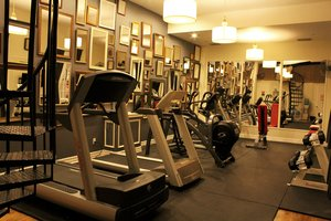 Fitness/ Exercise Room - Box House Hotel Brooklyn