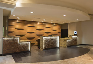 Lobby - Marriott Hotel Wichita