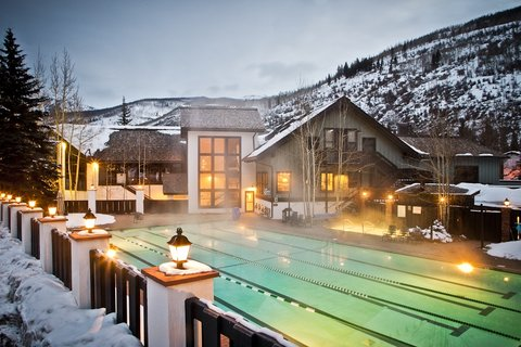 Pool And Club House Vail Racquet Club Mountain Res