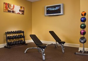 Fitness/ Exercise Room - Courtyard by Marriott Hotel Downtown New Orleans