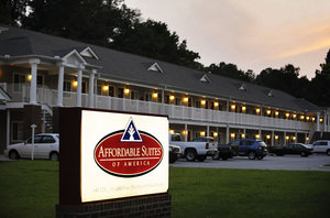 Exterior view - Affordable Suites of America Rocky Mount