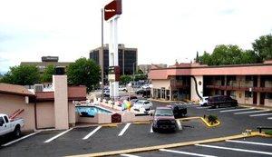 Exterior view - Santa Fe Inn Pueblo