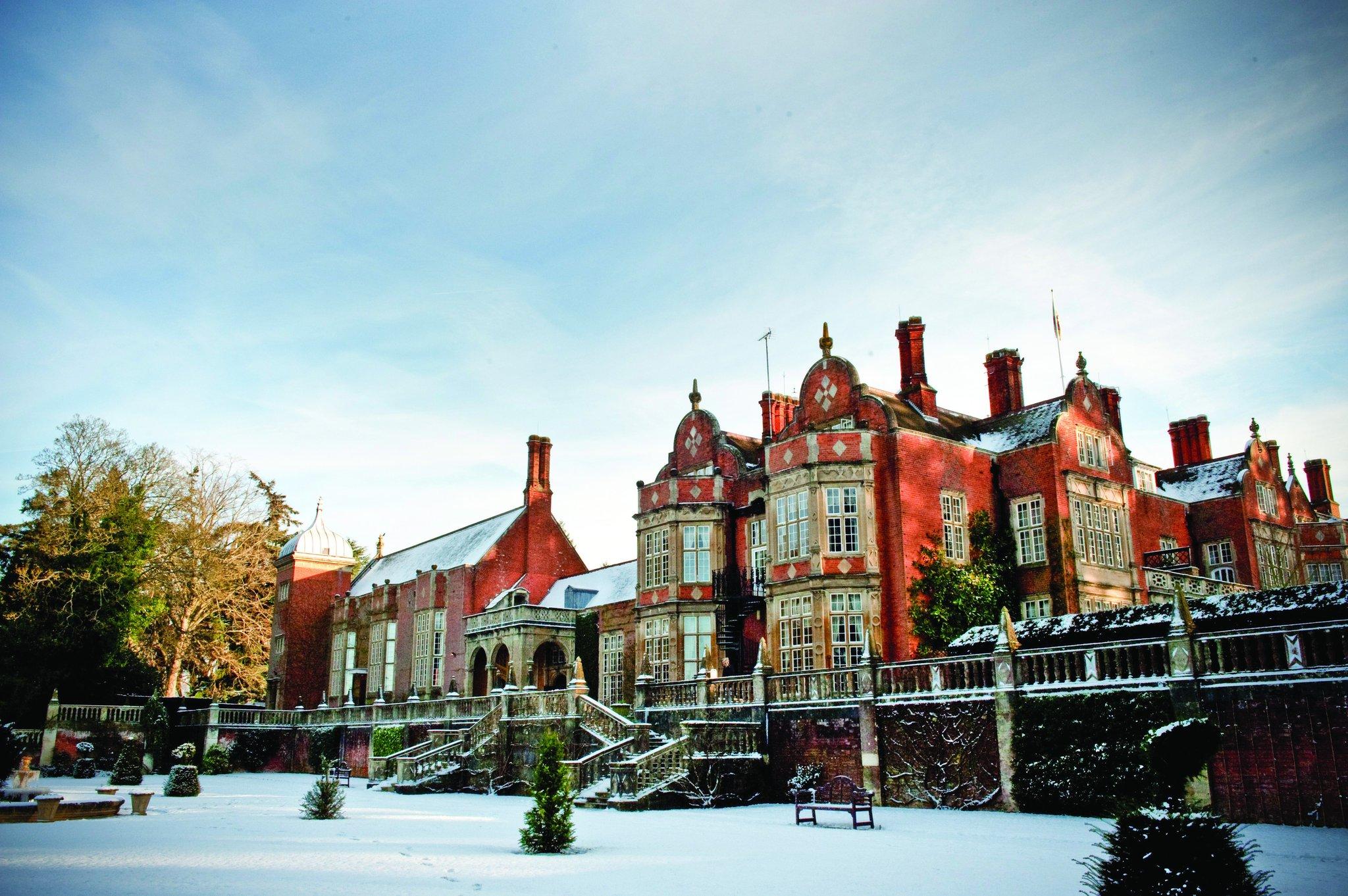 Winter at Tylney Hall