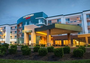 Exterior View Courtyard By Marriott Hotel East Evansville
