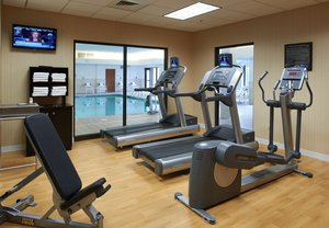 Fitness/ Exercise Room - Courtyard by Marriott Hotel Convention Center
