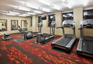 Fitness/ Exercise Room - Courtyard by Marriott Hotel Downtown Edmonton