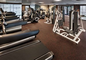 Fitness/ Exercise Room - Marriott Hotel at Forrestal Princeton