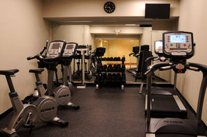 Fitness/ Exercise Room - Holiday Inn Capitol Downtown Raleigh