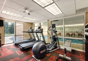 Fitness/ Exercise Room - Courtyard by Marriott Hotel Junction City