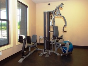 Fitness/ Exercise Room - BCMInns Lac La Biche