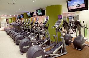 Fitness/ Exercise Room - Luxiasuites City Center Wilmington