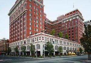 Exterior view - Historic Davenport Hotel Spokane