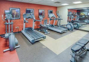 Fitness/ Exercise Room - Courtyard by Marriott Hotel Moorhead
