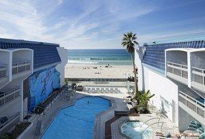 Exterior view - Blue Sea Beach Hotel San Diego